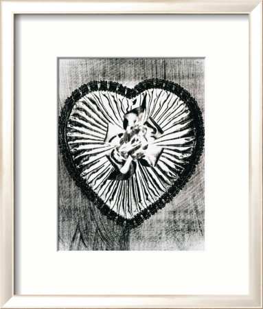 Heart with Bow, c.1983 Framed Art Print
