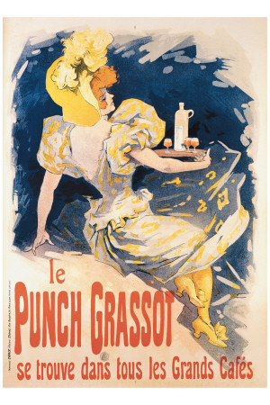 Le Punch Grassot Giclee Print by Jules Chéret