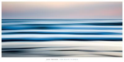 Tor Beach, Summer Print by Jeff Friesen