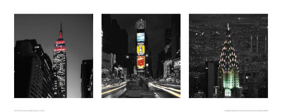Manhattan Notturno II Print