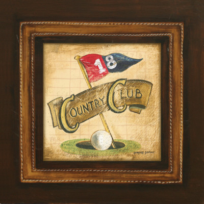 Golf Country Club Posters by Gregory Gorham