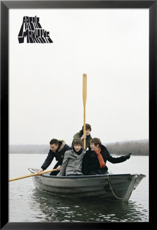 Arctic Monkeys Lamina Framed Poster