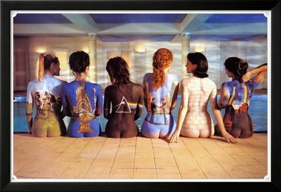 Pink Floyd Lamina Framed Poster
