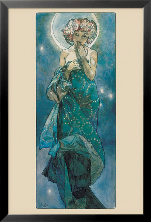 The Moon Lamina Framed Poster