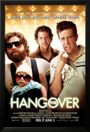 The Hangover Lamina Framed Poster