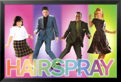 Hairspray Lamina Framed Poster