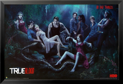 Trueblood ? Season 3 ? Do Bad Things Lamina Framed Poster