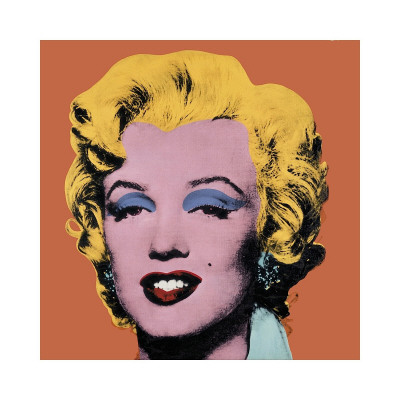 Shot Orange Marilyn, c.1964 Gicleetryck
