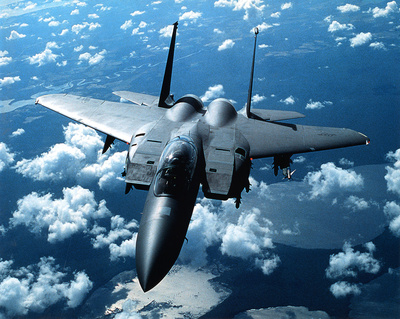 F-15 E Strike Eagle United States Air Force Photographie