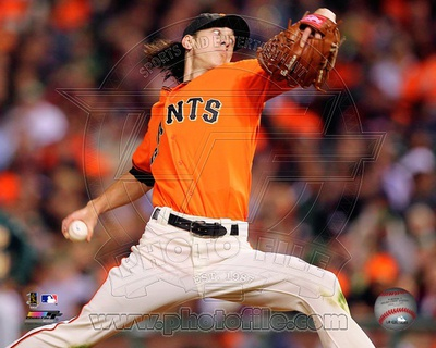 Tim Lincecum 2010 Action Photo