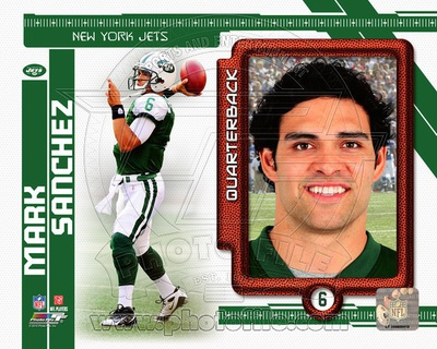 Mark Sanchez 2010 Studio Plus Photo