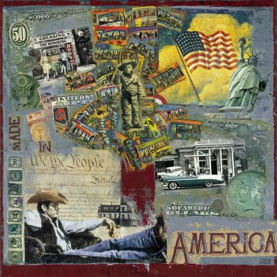 America Prints by M. Sigrid