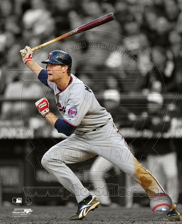 Justin Morneau 2010 Spotlight Action Photo