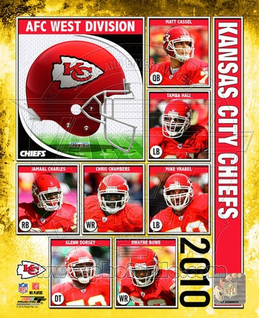 2010 Kansas City Chiefs Team Composite Photo