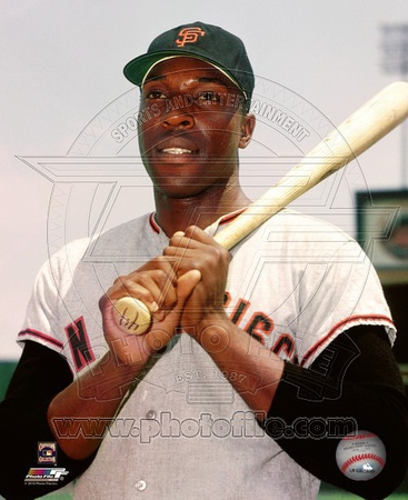 Willie McCovey 1964 Posed Photo