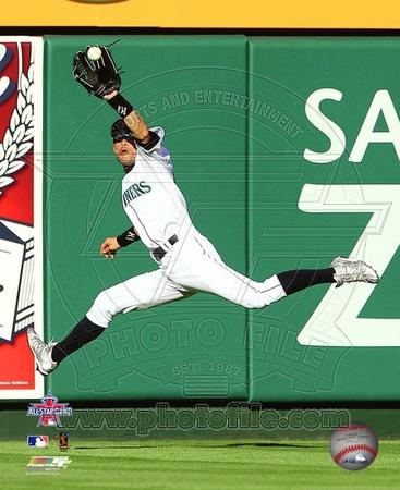 Ichiro Suzuki 2010 MLB All-Star Game Catch Photo
