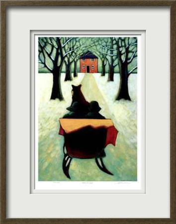 Home at Last Limited Edition Framed Print by Carol Ann Shelton