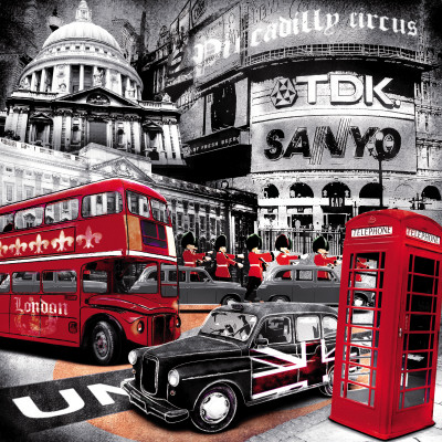 London Piccadilly Circus Art Print