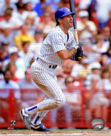 Paul Molitor 1990 Action Photo