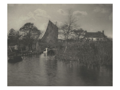 A Brodman's Cottage (Cottage of a Peasant of Norfolk) Giclee Print by Peter Henry Emerson