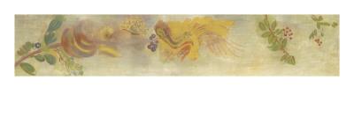 Décoration Domecy : frise de fleur et baies Giclee Print by Odilon Redon