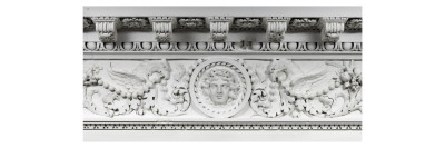 Game Show Queen Marie-Antoinette: Frieze and Cornice Giclee Print
