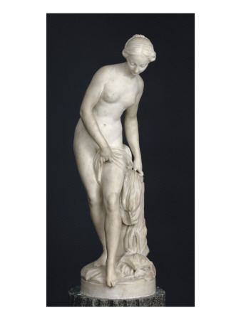 Baigneuse dite aussi Nymphe qui descend au bain Giclee Print by Etienne Maurice Falconet