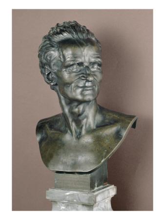 Jean Baptiste II Lemoyne (1704-1778), sculpteur, maître de Pajou Giclée-tryk