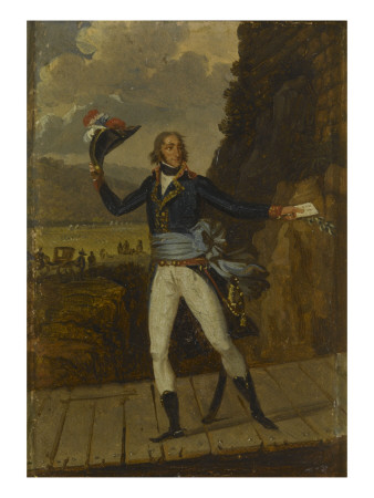 Jean-Joseph, marquis Dessolle (Dessole) (1767-1828), lieutenant général Giclée-tryk