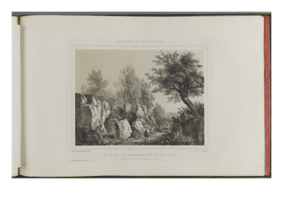 Memories of Fontainebleau, Dedicated to the Duchess of Aumale Premium Giclee Print by Ch. Walter