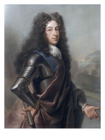 Portrait de Louis de France, duc de Bourgogne (1682-1712) Giclée-Druck von Joseph Vivien