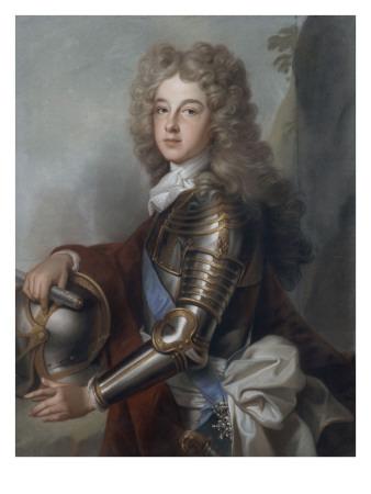 Portrait of France Philip, Duke of Anjou (1683-1746) Giclée-Druck von Joseph Vivien