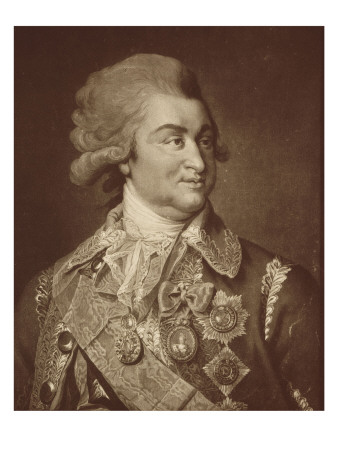 Portrait of Prince Gregory Potemkin Alexandrovitch. Giclee Print by James Walker