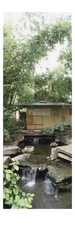 Tea Pavilion, the Museum's Garden Buddhist Pantheon Giclee Print