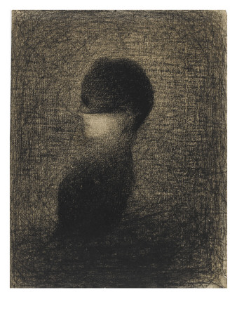 La Voilette Giclee Print by Georges Seurat