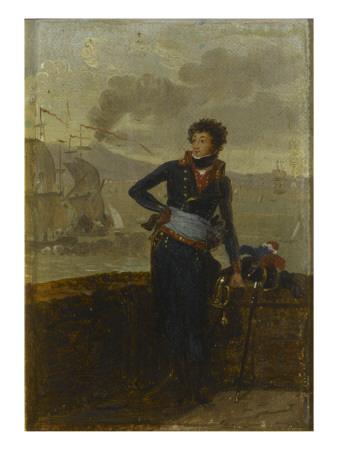 Victor-Léopold Berthier, général de division en 1805 (1770-1807) Giclée-tryk