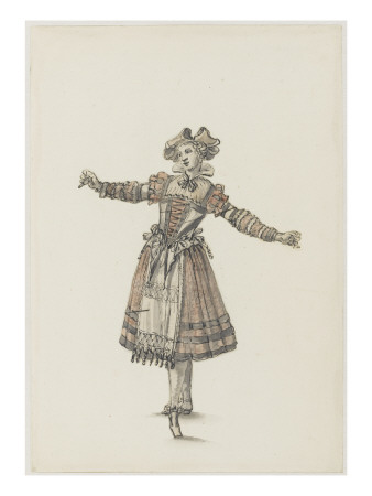 Tome II (1604  1695 DR) : Costumes de ftes et de mascarades. Thtre de louis XIV Gicle-tryk