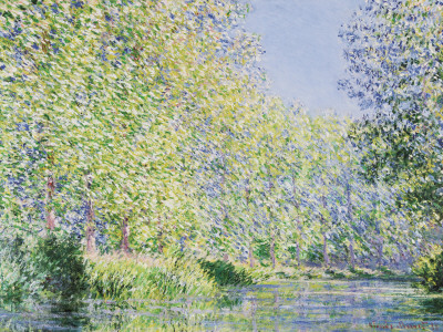 The Epte River near Giverny Art Print
