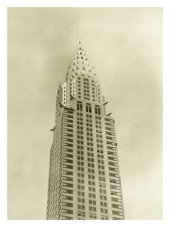 The Chrysler Building, New York City, c.1930 Giclee Print