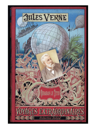 "Jules Verne, Cover of ""Keraban the Inflexible"" Giclee Print by Jules Verne"