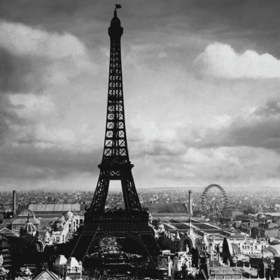 The Eiffel Tower, Paris France, c.1897 Art Print
