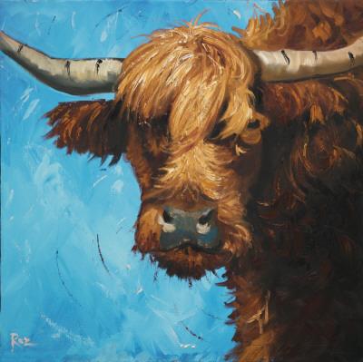 Cow, no. 301 Prints by  Roz