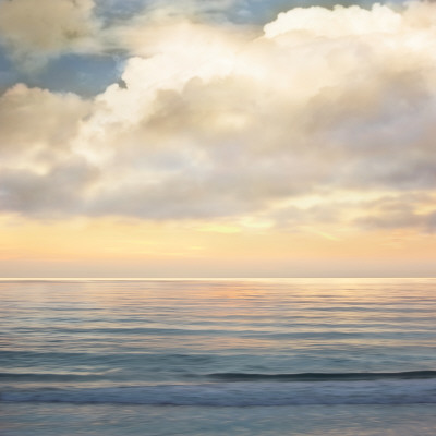 Ocean Light I scenic seascape picture art print by John Seba