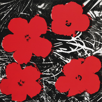 Flowers (Red), c.1964 Stampe di Andy Warhol