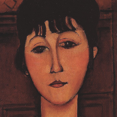Head of a Young Girl (detail) Posters by Amedeo Modigliani