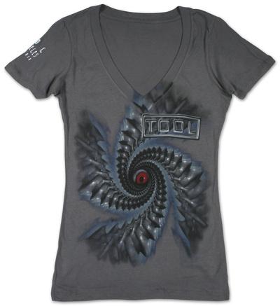 Juniors: Tool - Spiral T-Shirt