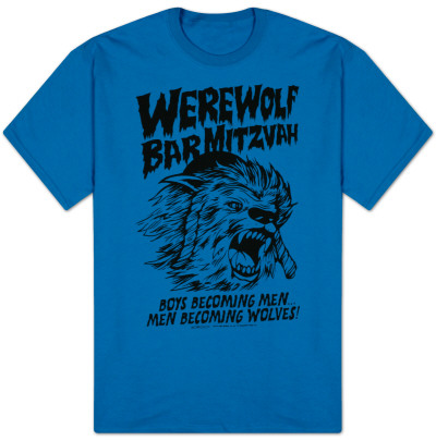 30 Rock - Werwolf Bar Mitzvah T-Shirt