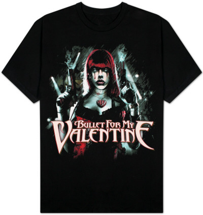 Bullet For My Valentine - Shooter T-Shirt