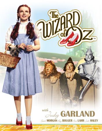 Wizard of OZ Dorothy w/ Toto Tin Sign