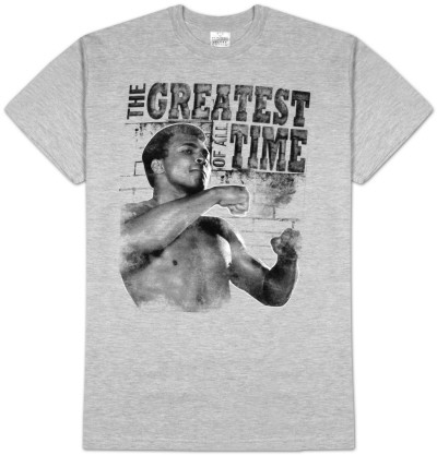 Muhammad Ali - Training Stance T-shirts